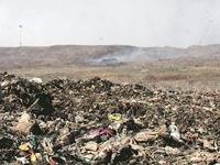Solid waste mgmt plant begins working