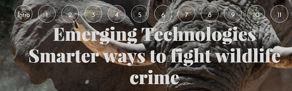 Emerging technologies - Smarter ways to fight wildlife crime